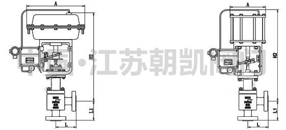 限位开关和电磁阀接线图